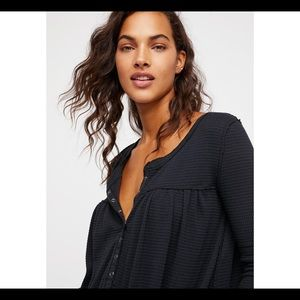 Free People Tops - Free people - we the free - Kai textured Henley